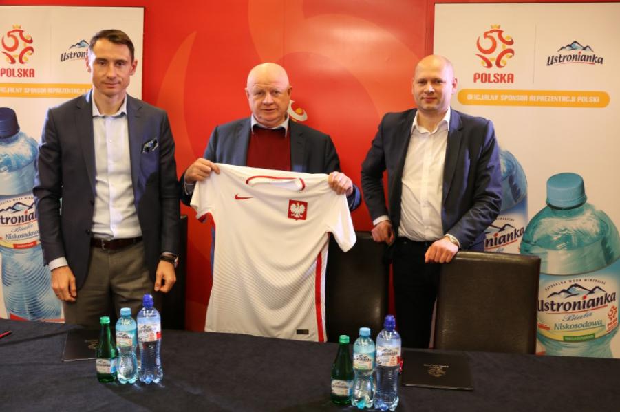 Ustronianka Oficjalnym Sponsorem Piłkarskiej Reprezentacji Polski