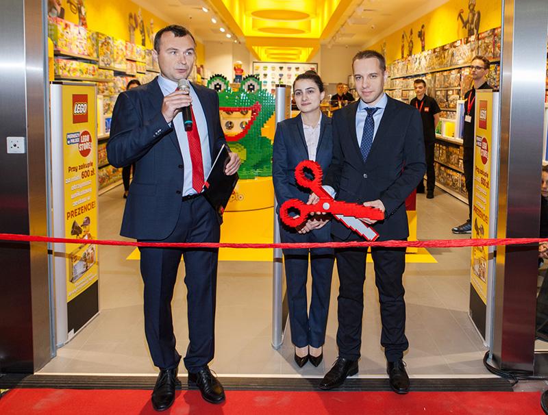 Operator Pierwszego W Polsce Lego Store Wybrał Subiekta Sprint
