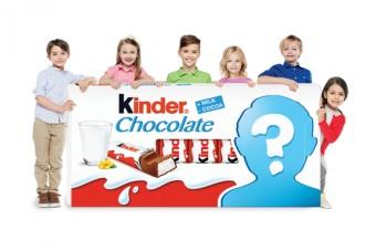 Twoje dziecko twarzą Kinder Chocolate