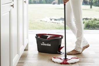 Easy Wring & Clean TURBO od Viledy. Porządek w mgnieniu mopa