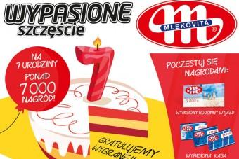 MLEKOVITA - loteria z okazji 7. urodzin marki Wypasione