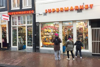 Fotogaleria: handel w Amsterdamie