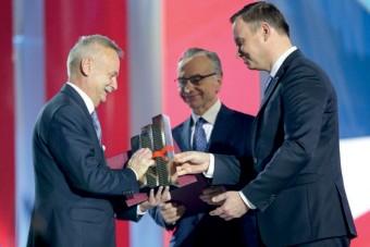 Toruńskie Zakłady Materiałów Opatrunkowych, TZMO z Nagrodą Gospodarczą Prezydenta RP