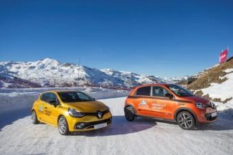 Samochody Renault Sport i sporty zimowe w Val Thorens!
