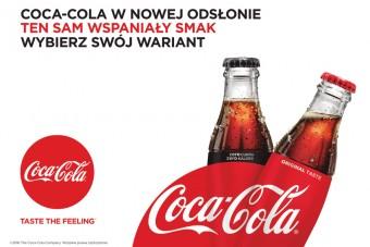 Rusza kampania marketingowa strategii promującej wybór pomiędzy wariantami Coca-Cola