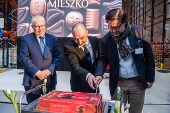 Inauguracja magazynu wyrobów gotowych MIESZKO S.A.