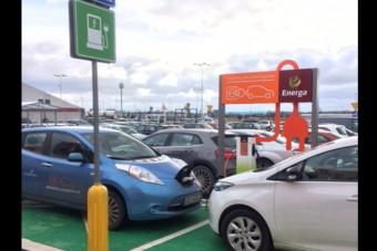 Auchan z terminalem do ładowania samochodów elektrycznych