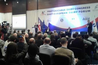 Przedstawiciel Polskiej Izby Mleka na Kongresie Mleczarskim w Tbilisi