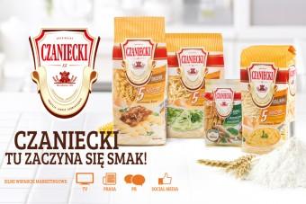 Czaniecki będzie ocalać smaki od zapomnienia! Producent makaronów rusza z nową kampanią w mediach.