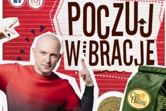 """Kampania wizerunkowa marki """"Czas na Herbatę"""" z udziałem Macieja Florka"""