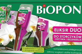Biopon eliksir duo do storczyków (5+1 gratis)