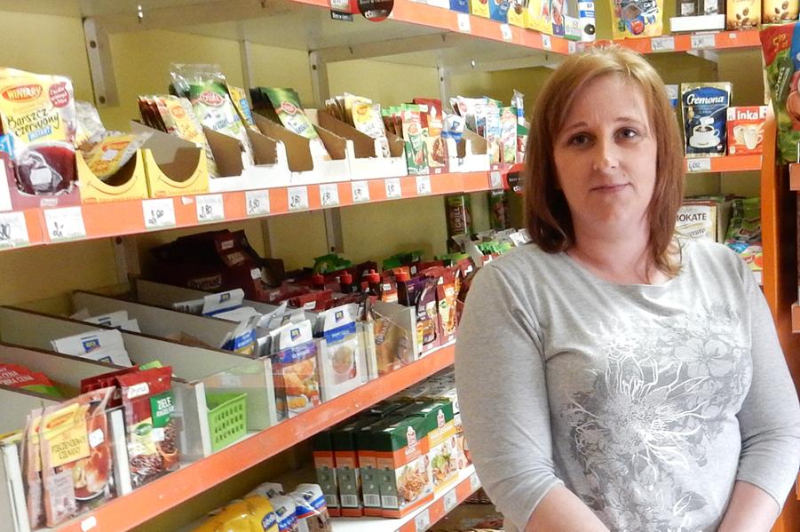 Iwona Jakubowska, Właścicielka Sklep Odido Baglewice 50A Jasieniec