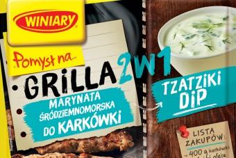 Nowy POMYSŁ NA… Grilla 2w1 – wyjątkowe grillowanie tylko z marką WINIARY!
