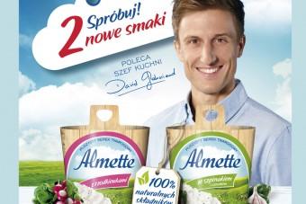 Wsparcie nowych smaków Almette - start!