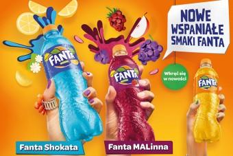 Orzeźwiająca kampania nowej formuły Sprite i dwa nowe warianty smakowe FANTA!