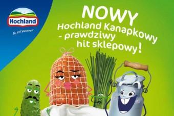 Nowy Hochland Kanapkowy - serek z charakterem, kampania reklamowa też z charakterem!