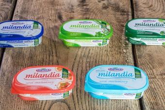 Nowe smaki serków Milandia od OSM Piątnica