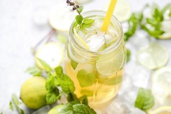Przepis na mrożoną herbatę Wellness & Spa marki Czas na Herbatę