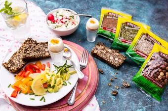 Chleb życia (bez mąki i glutenu) z nasionami marki Kresto