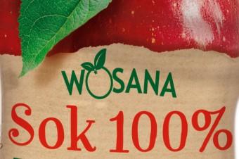 Owocowe nowości marki Wosana – soki 100% NFC w dwóch smakach