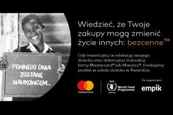 Mastercard włącza Polaków w fundowanie szkolnych posiłków w ramach współpracy z ONZ