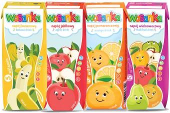 Nowość! Napoje w kartonikach WOSANKA Caliz marki Wosana – idealne na rozpoczęcie roku szkolnego