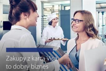 50 zł na kolejne zakupy dla przedsiębiorców od Visa i MAKRO