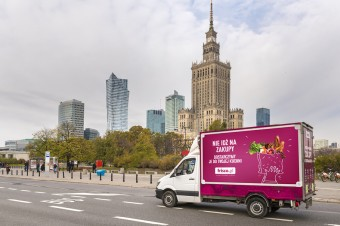 Coraz więcej Polaków robi zakupy spożywcze przez Internet