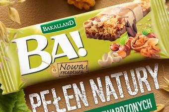 Pełen natury – Bakalland promuje batony BA!