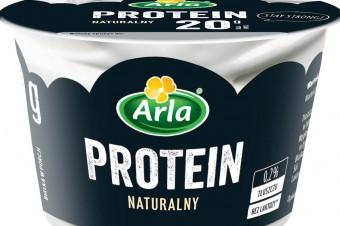 Wysokobiałkowy serek Arla Protein o smaku naturalnym