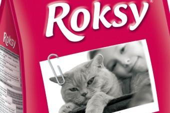 ROKSY® STERILISED z drobiem, dla kotów po zabiegu sterylizacji i kastracji