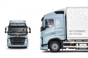 Nowe samochody ciężarowe Volvo Trucks z silnikami gazowymi emitują od 20 do 100% mniej CO2