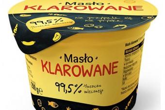 Masło klarowane marki Sertop na podium