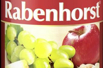 BIO Sok wieloowocowy z imbirem marki Rabenhorst -  750 ml