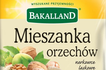 Mieszanka orzechów – dobrze zbilansowana kompozycja od Bakalland