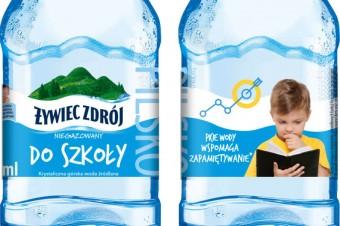 Nowe etykiety wody Żywiec Zdrój