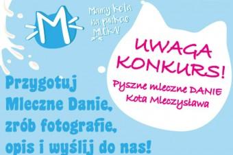 Pyszne mleczne danie Kota Mleczysława