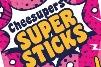 """Paluszki serowe """"cheesupers – super sticks"""""""