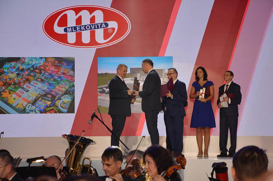 Mlekovita uhonorowana przez Prezydenta Rzeczypospolitej Polskiej