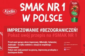 Mikołajki #BEZograniczeń ze Smakiem nr 1 w Polsce! Nowa kampania konkursowa od marki Kotlin.