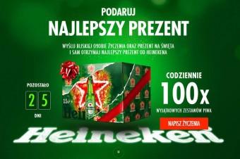 Podaruj najlepszy prezent - Benicio del Toro w świątecznej kampanii Heinekena