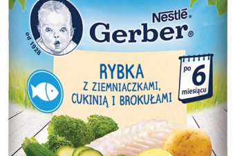 Gerber zaprasza na obiadek z rybką