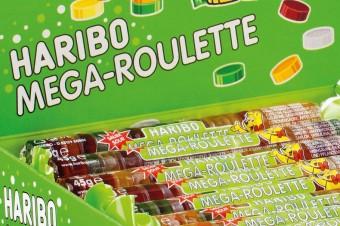 Haribo Mega Roulette owocowe i kwaśne