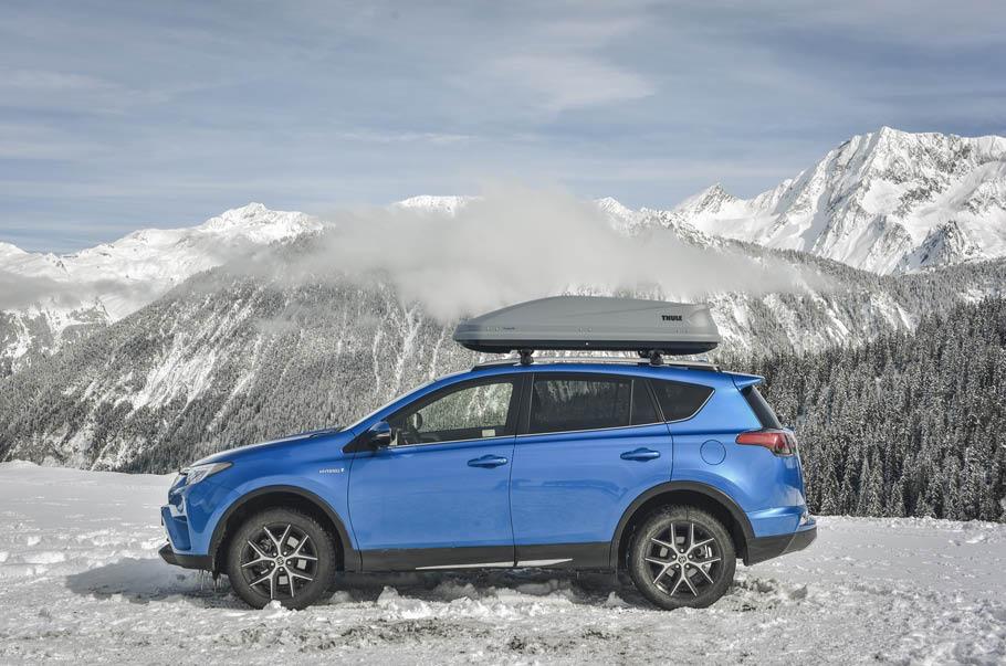 Hybrydy Nie Boją Się Mrozu Zima Ze Sportowo Użytkowymi Hybrydami Toyoty