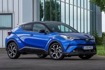 Hybrydowe hity 2017 roku: Toyota C-HR niekwestionowanym liderem