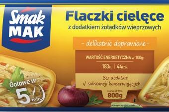 Delikatny smak na wyciągnięcie ręki, czyli Flaczki cielęce od marki SmakMAK