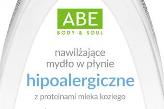 Hipoalergiczne mydło w płynie z proteinami mleka koziego