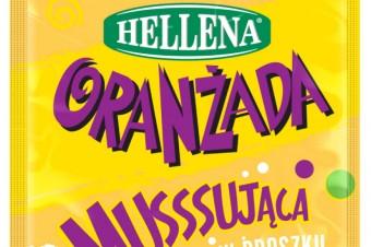 Słoneczne chwile z Oranżadą Hellena! Nowość - Żółta Oranżada Hellena w proszku