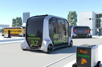 Toyota e-Palette Concept zadebiutowała na Consumer Electronics Show