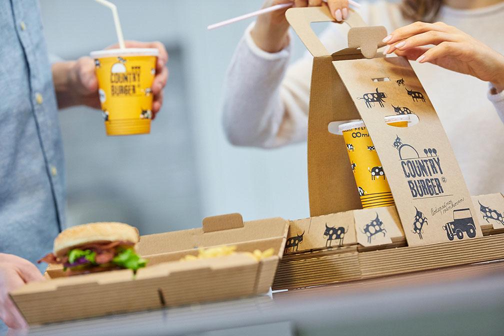 Mondi dostarcza jedyne w swoim rodzaju opakowania do startupowej sieci fast foodów w Czechach